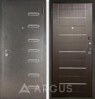 Металлическая входная дверь Аргус Стиль ДА-1/2 Элис с молдингами