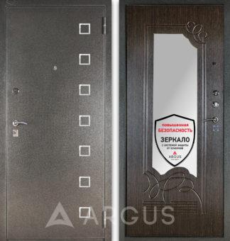 Стальная дверь Аргус ДА-6 Даллас с зеркалом