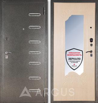 Железная входная дверь с зеркалом Аргус Стиль ДА-8 Элис