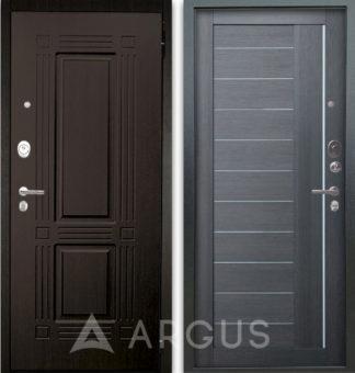 Металлическая дверь Аргус Люкс АС 2П Триумф Венге/Диана Лунная ночь