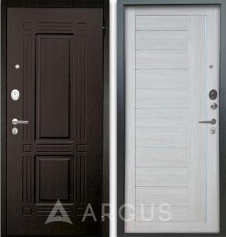 Сейф-дверь с молдингами Аргус Люкс АС 2П Триумф Венге/Диана Буксус