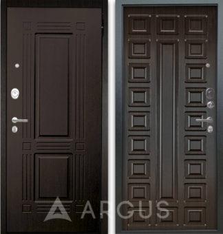 Темная дверь Аргус Люкс АС 2П Триумф Венге/Сенатор Венге тисненый