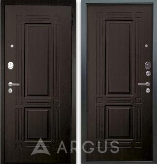 Металлическая дверь Аргус Люкс АС 2П Триумф Венге/Триумф Венге