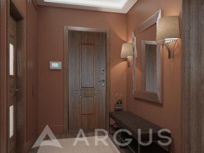 Входная сейф-дверь для коттеджа Аргус ТЕПЛО-32