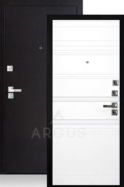 Железная дверь со стеклом Аргус ДА-92