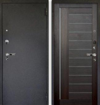 Сейф-дверь со стеклом Аргус Люкс ПРО 3К Черный шелк ДИАНА ВЕЛЬВЕТ