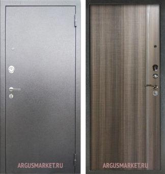 Входная дверь Аргус Серебро антик Гауда Керамика