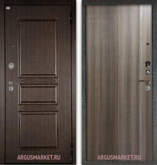 Стальная дверь Аргус Сабина Венге/Гауда Керамика