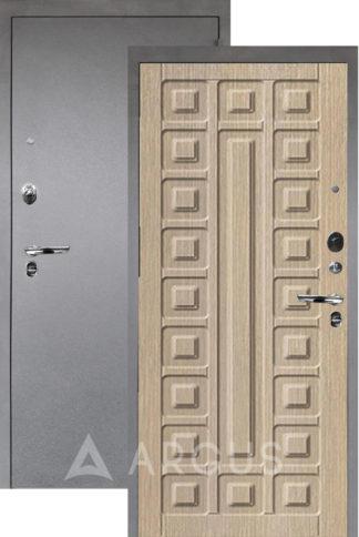 Стальная дверь Аргус Люкс ПРО 3К Серебро антик СЕНАТОР КАПУЧИНО