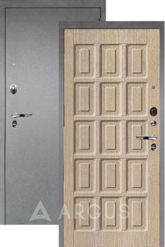 Входная дверь Аргус Люкс ПРО 3К Серебро антик ШОКОЛАД КАПУЧИНО
