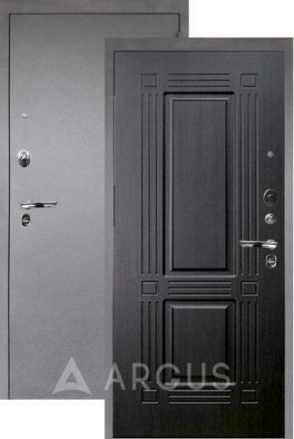 Входная дверь Аргус Люкс ПРО 3К Серебро антик ТРИУМФ ВЕНГЕ ТИСНЕНЫЙ