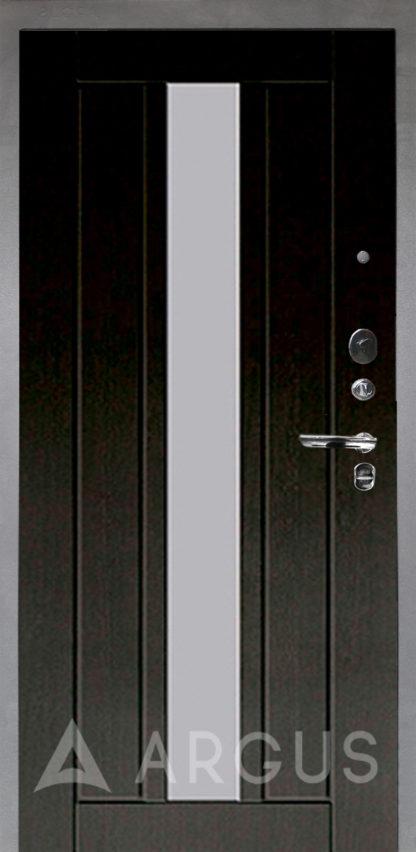 Сейф-дверь с зеркалом Аргус Люкс ПРО Серебро антик ВЛАДИМИР ВЕНГЕ ТИСНЕНЫЙ