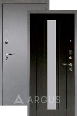 Сейф-дверь с зеркалом Аргус Люкс ПРО 3К Серебро антик ВЛАДИМИР ВЕНГЕ ТИСНЕНЫЙ